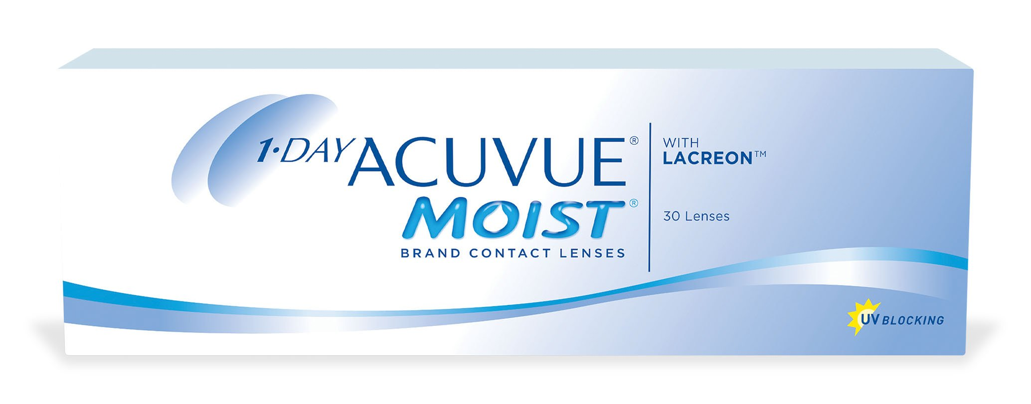 1-DAY ACUVUE® MOIST con LACREON®