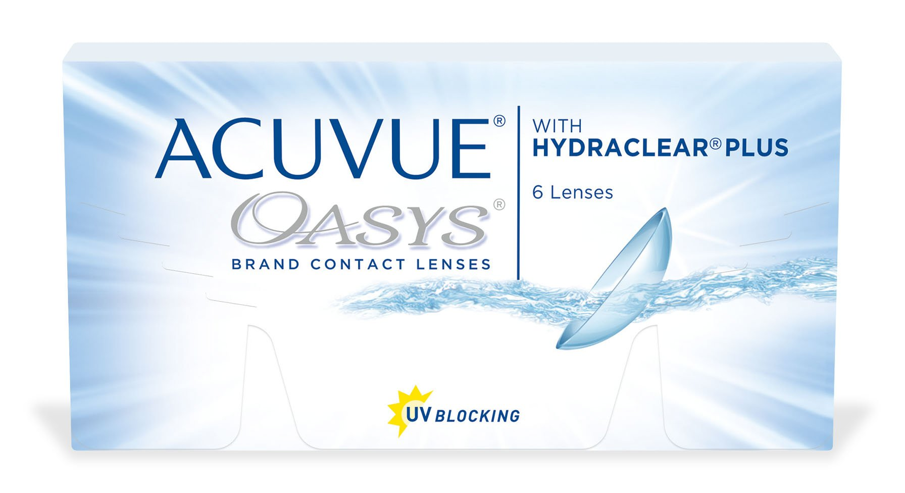 ACUVUE OASYS® con HYDRACLEAR Plus®