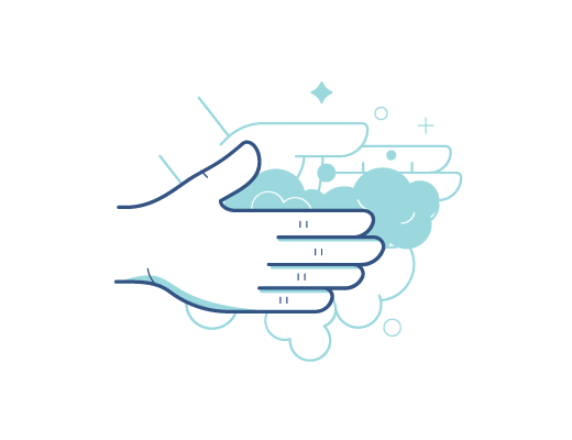 Pasos para lavarse las manos correctamente