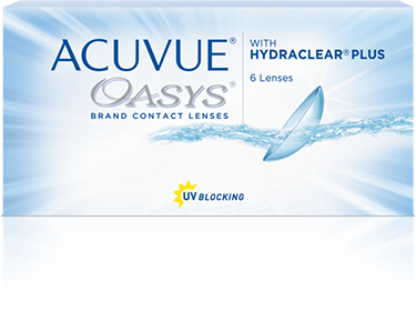 ACUVUE® OASYS con HYDRACLEAR Plus®