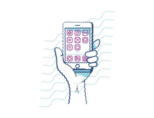 Ícono Teléfono móvil