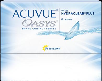 ACUVUE® OASYS para ASTIGMATISMO con HYDRACLEAR Plus®